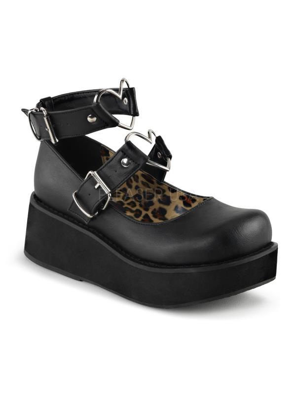 Demonia Platform Sandals & Shoes Womens SPR02/BVL Size: 6