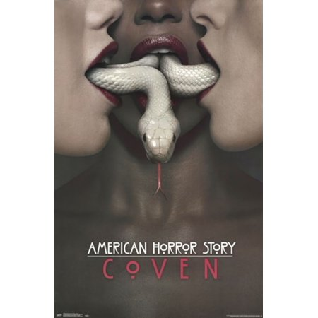 American horror story coven poster poster print for American horror story wall mural