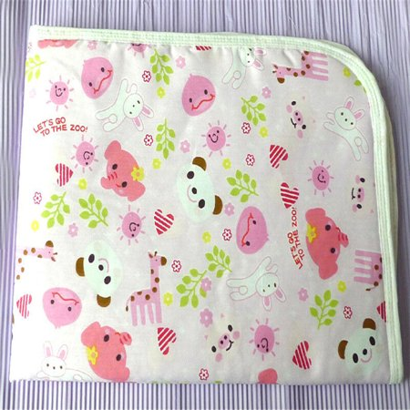 - Baby Infant Diaper Nappy Mat Waterproof Bedding Changing Cover Pad Pink Size S