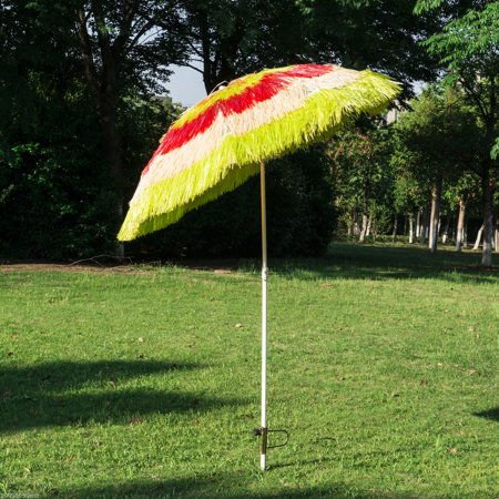 Tiki Beach Outdoor Umbrella - Adjustable and Lightweight - multicolour - image 1 of 7