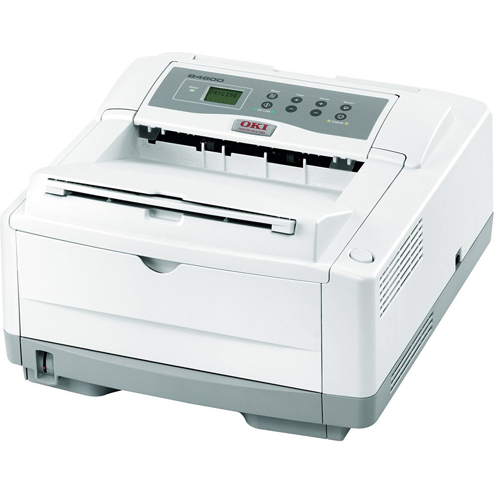 Oki B4600 Monochrome LED Printer (62446502) Used