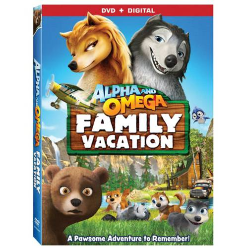 Alpha & Omega: Family Vacation (DVD   Digital Copy) (With INSTAWATCH)