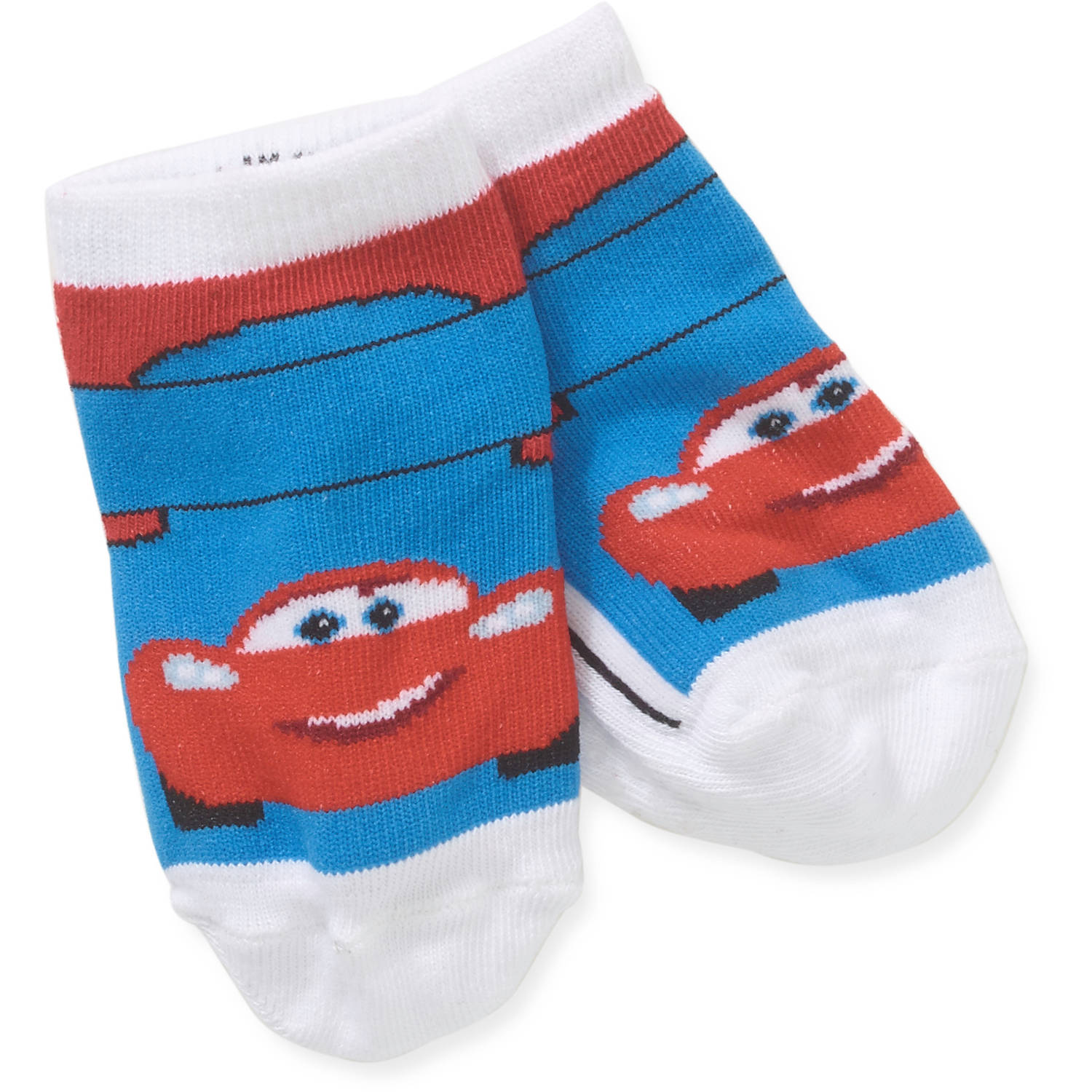 Cars Newborn Baby Boy Quarter Socks - 3 Pack