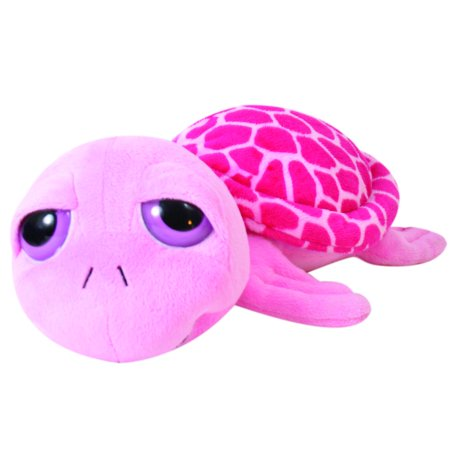Bright Eyes Pink Turtle 14 inch - Stuffed Animal by The Petting Zoo - Bright Eyes Stuffed Animals