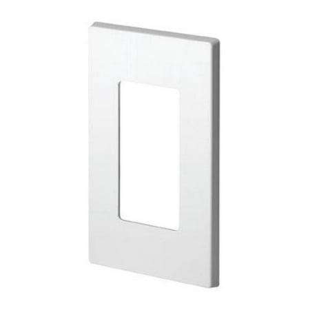 Decora 80301 0sw Less Snap On Wallplate White