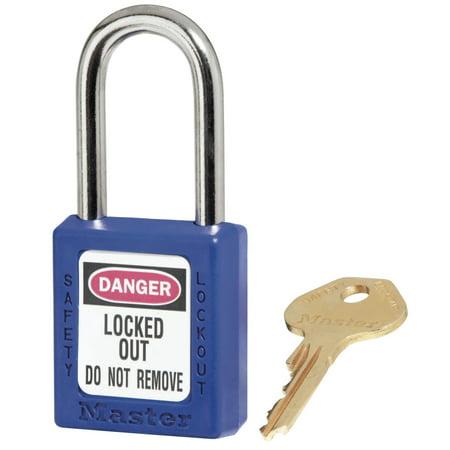Master Lock No 410 411 Lightweight Xenoy Safety Lockout Padlocks Blue