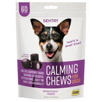 SENTRY Calming Chews for Dogs, 60 Soft Chews