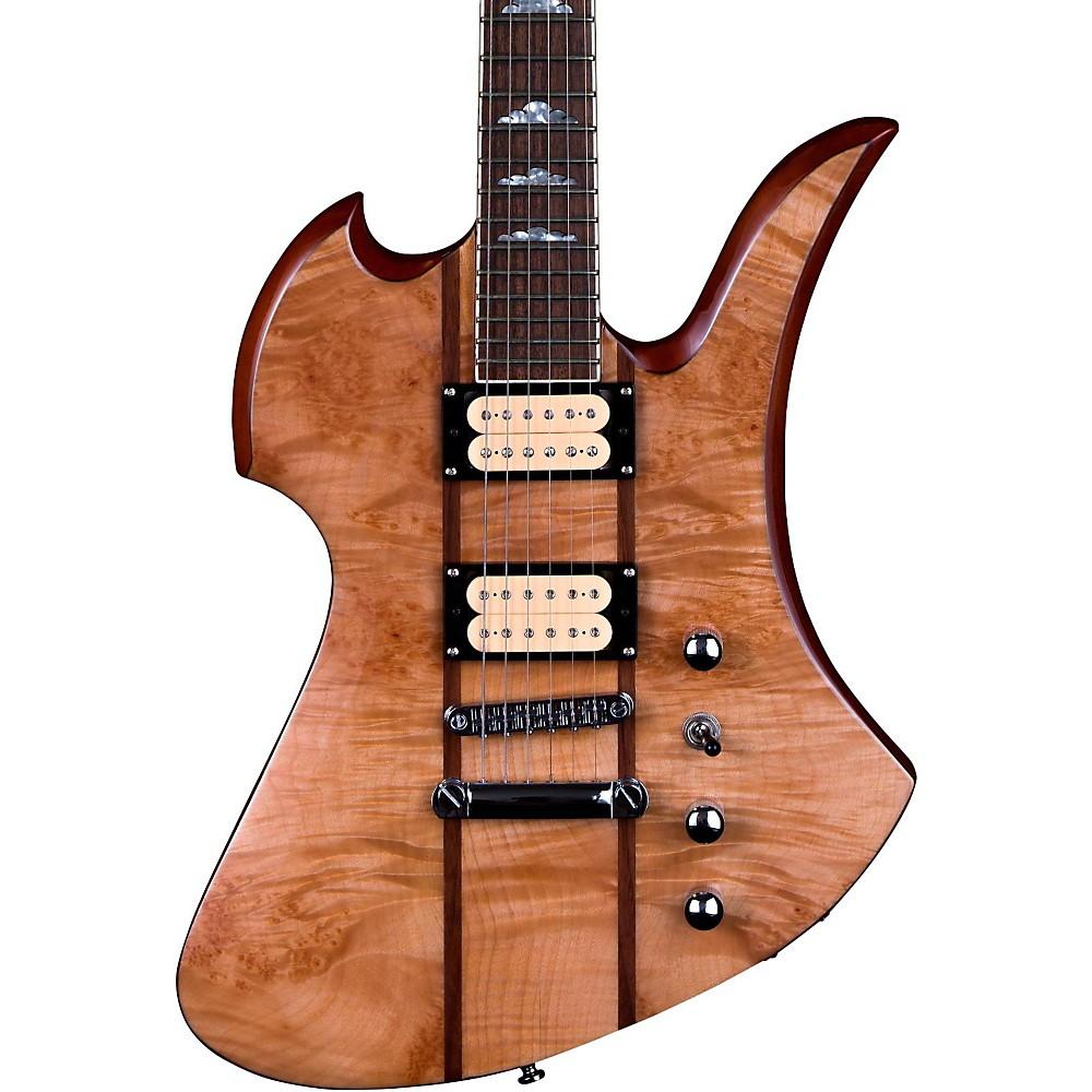 B.C. Rich Mockingbird Neck Through with Maple Burl Top Electric Guitar Gloss Natural by B.C. Rich