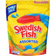 (2 Pack) Swedish Fish, Assorted Fat Free Soft & Chewy Candy Bulk Oz, 1.9 - Bulk Candy Stores