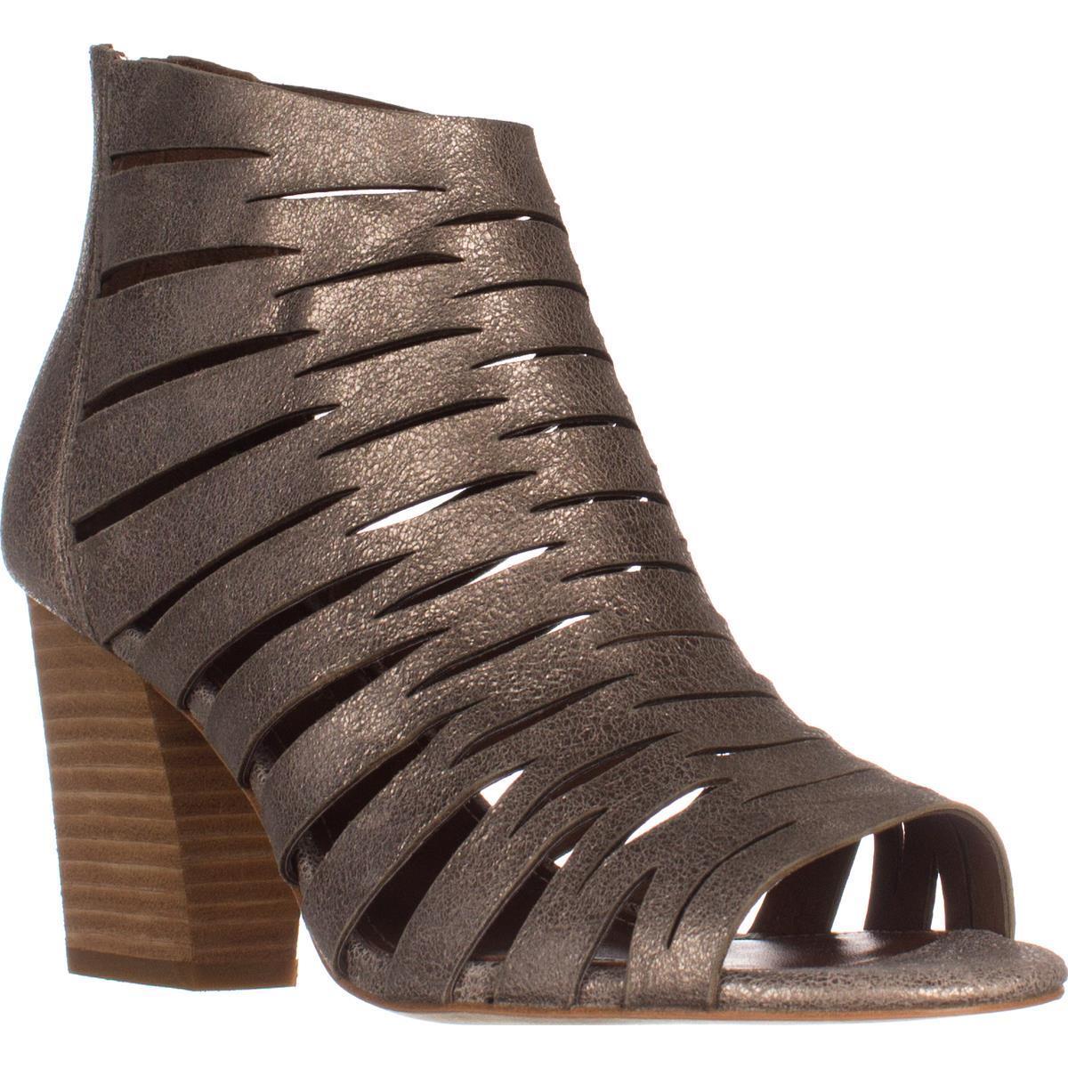 Womens Donald J Pliner Greece Open Toe Zip Sandals, Blush by Donald J Pliner