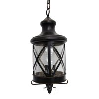 Y Decor Taysom 3 Light Outdoor Hanging Lantern