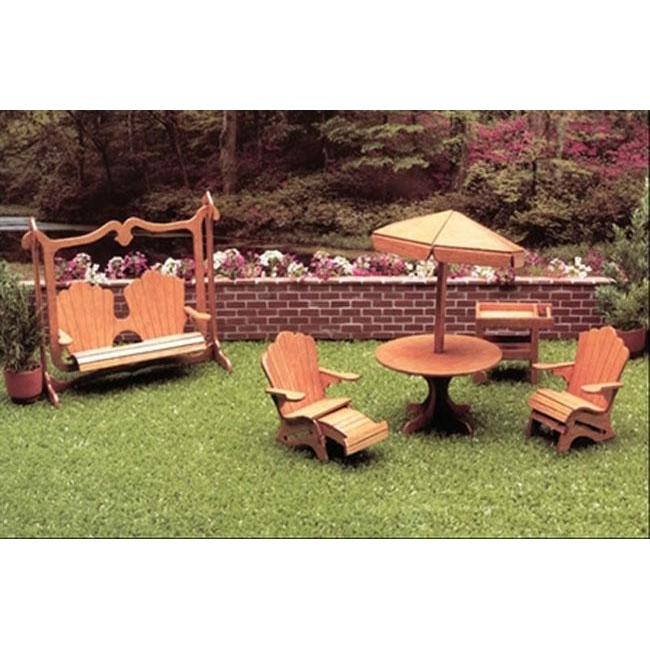 Greenleaf 7208 Patio Dollhouse Furniture Kit