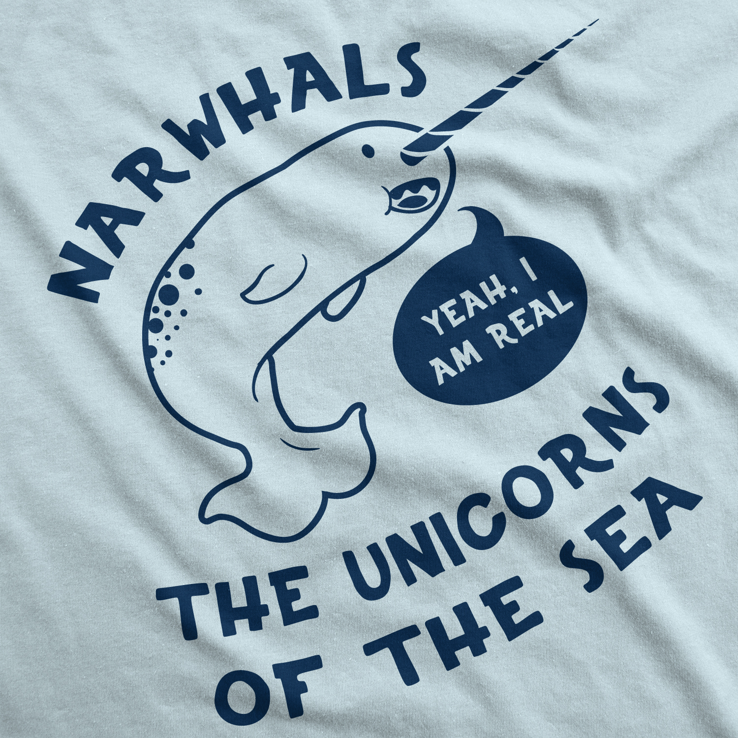 Save the Narwhals T-Shirt-Funny Humorous Novelty Shirt-NEW-S-XXXL