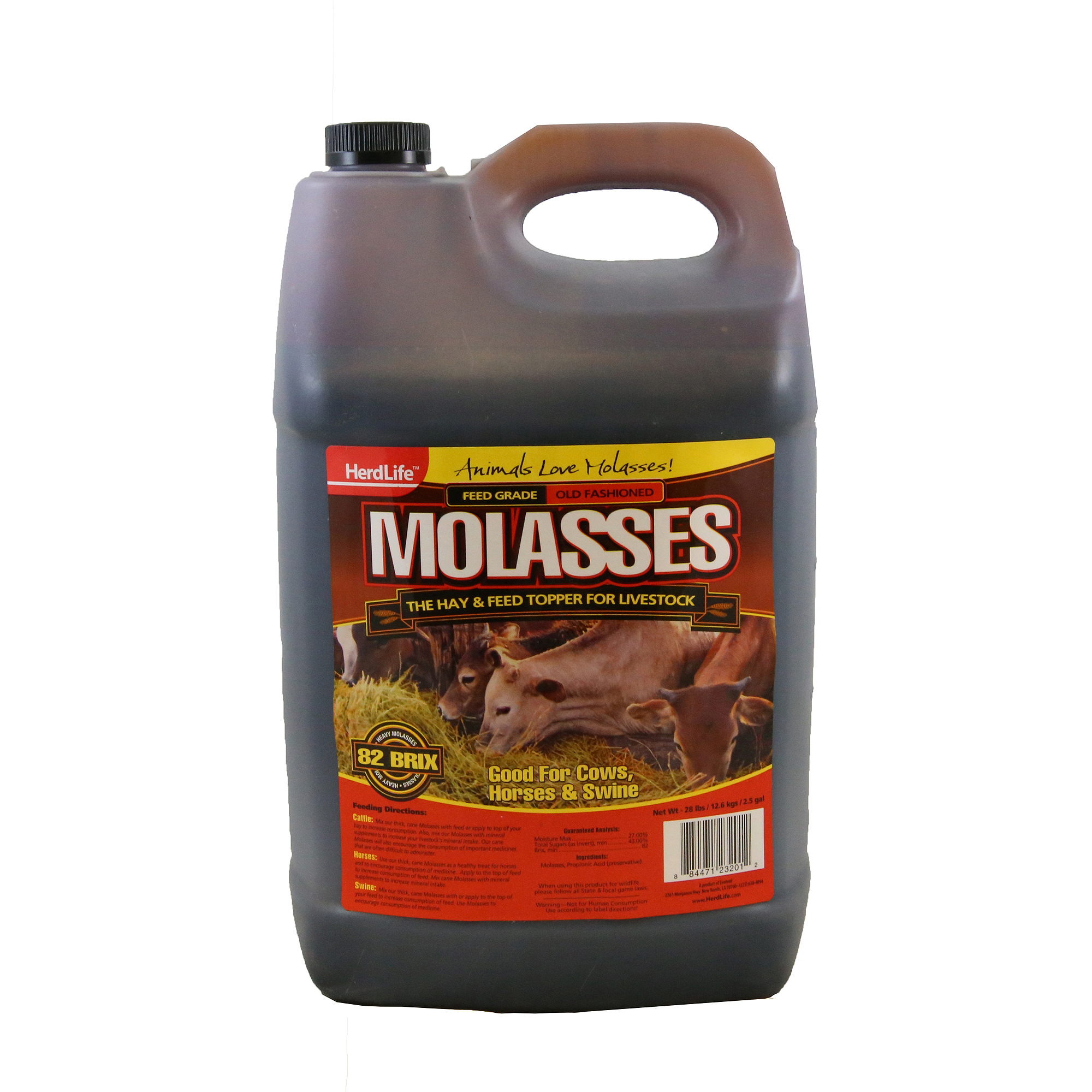 Herd Life Livestock Molasses, 2.5 gal