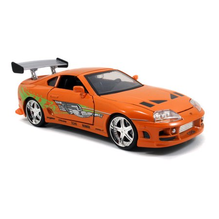 1:24 Fast & Furious - '95 Toyota Supra (Fast And Furious Orange Supra For Sale)