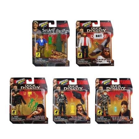 Adventure Wheels Duck Dynasty Action Figure Pack ...