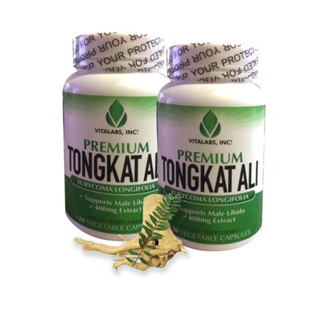 Tongkat Ali Extract - Premium Natural Testosterone Booster, Potent 400mg To Naturally Support Low T, Libido, Lean Muscle Mass, Overall Well-Being - Aphrodisiac Rescue, 120 (Best Way To Raise Testosterone Naturally)
