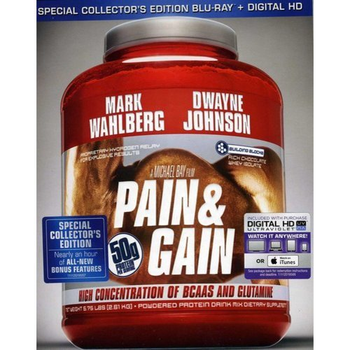 Pain And Gain (Special Collector's Edition Blu-ray   Digital HD) (With INSTAWATCH) (Widescreen)