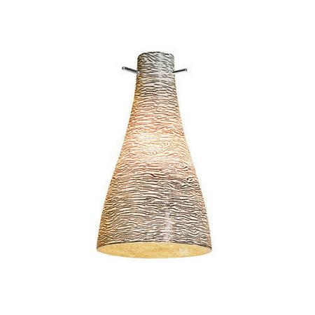 Access lighting 937IT-ORO 8.5 x 4.75 in. Cavo Italian Hand Blown Gold Glass