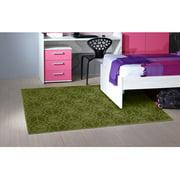 Garland Rug Peace Bight Purple 4'x6' Novelty Indoor Area Rug