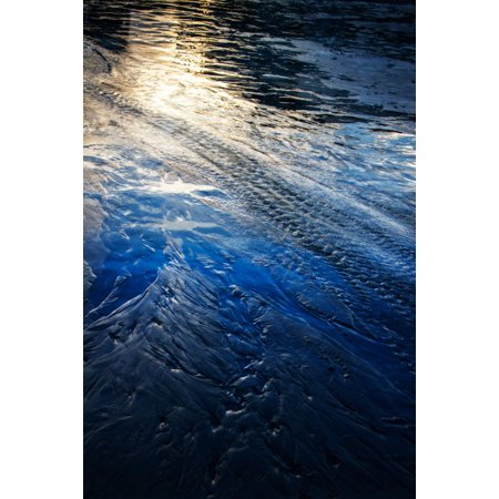 Water Etchings I, Fine Art Photograph By: Alan Hausenflock; One 24x36in Fine Art Paper Giclee Print ()