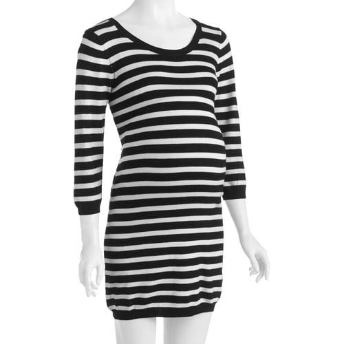 Oh! Mamma Maternity Striped Sweater Dress