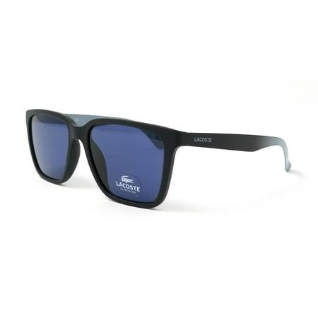 Lacoste Sunglasses L795S 001 MATTE BLACK Rectangular (Lacoste Sunglasses Womens)