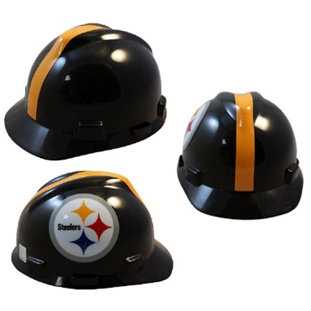 97df7930922 NFL Pittsburgh Steelers hard hats MSA Brand - Walmart.com
