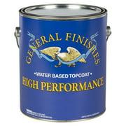 General Finishes, High Performance Polyurethane Topcoat, Flat, Quart