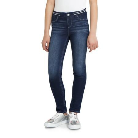 Jordache Rib Waist Skinny Jean (Little Girls & Big