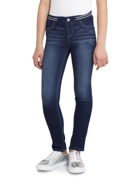 Jordache Rib Waist Skinny Jean (Little Girls & Big Girls)