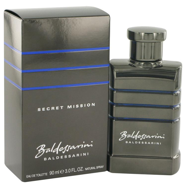 Baldessarini Secret Mission by Hugo Boss Eau De Toilette Spray 3 oz for Men
