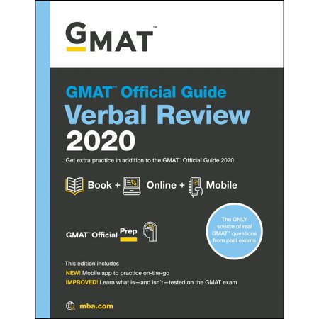 GMAT Official Guide 2020 Verbal Review : Book + Online Question (The Official Guide For Gmat Verbal Review)