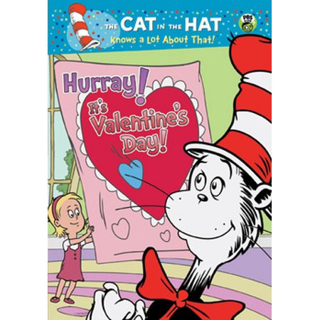 Cat in the Hat: Hurray! It's Valentines Day! (DVD) (Valentines Day Hat)