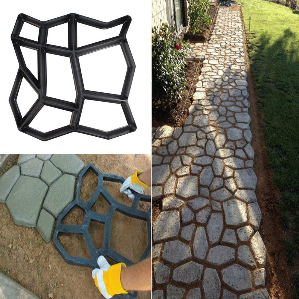 """Tree ring edger mold concrete plaster edging mould 17/"""" x 6/"""" x 1.5/"""""""