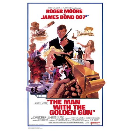 The Man With the Golden Gun - movie POSTER (Style B) (27