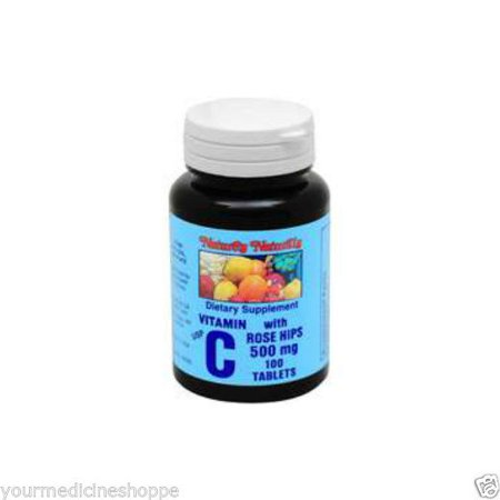 Natures Blend C With Rose Hips Tablets  500Mg  100Ct 079854301052A396