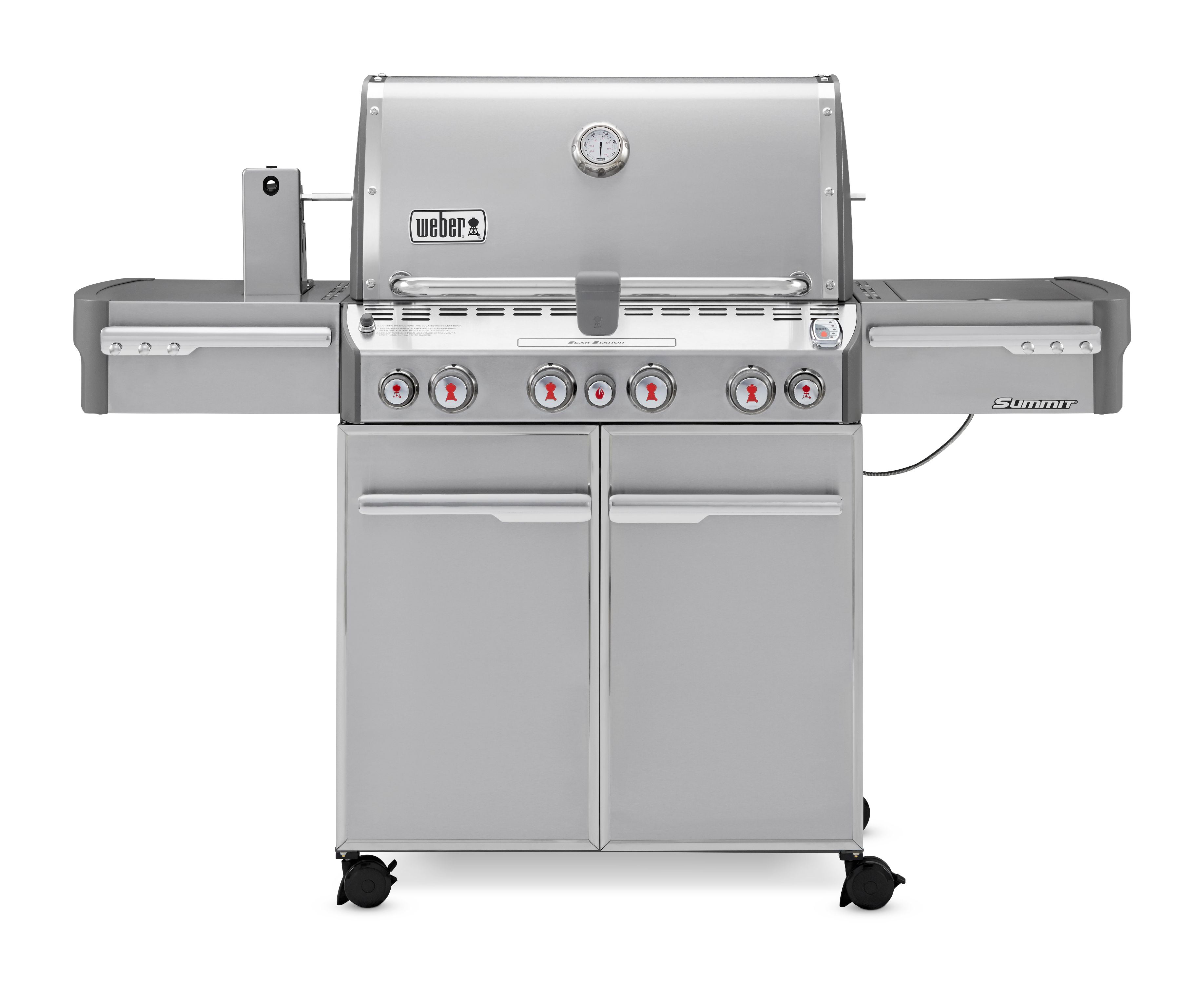 Weber Summit S-470 Gas Grill, Stainless Steel by Weber