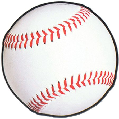 Baseball Cutout Party Accessory (1 count), 1 cutout per package. By Beistle Company Ship from - Party City Company Profile