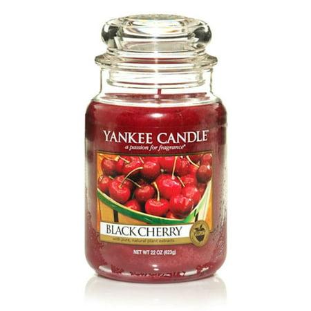 Yankee Candle Black Cherry  22 Oz Large Jar
