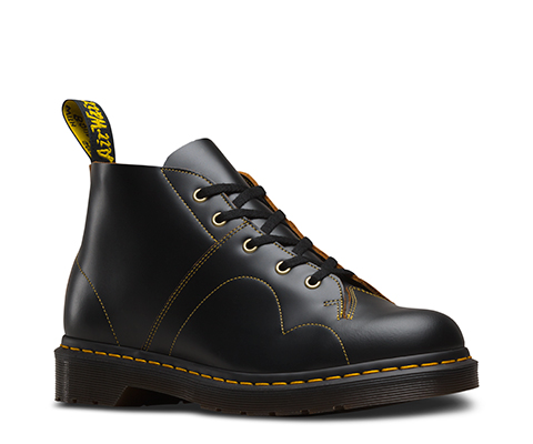 Dr martens church smooth leather monkey boots   Boots, Sock