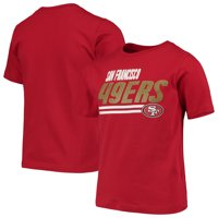 Youth Scarlet San Francisco 49ers Lined T-Shirt