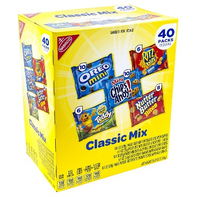 Nabisco Cookie Cracker Variety Pack 40 count