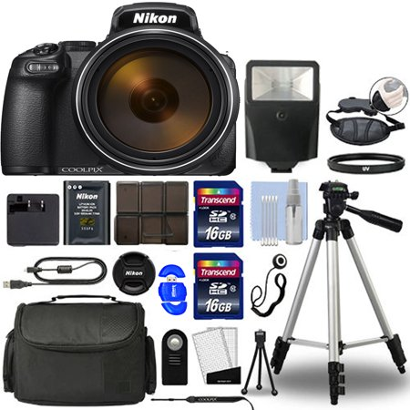 Nikon COOLPIX P1000 Digital Camera with Professional Additional Accessories ()