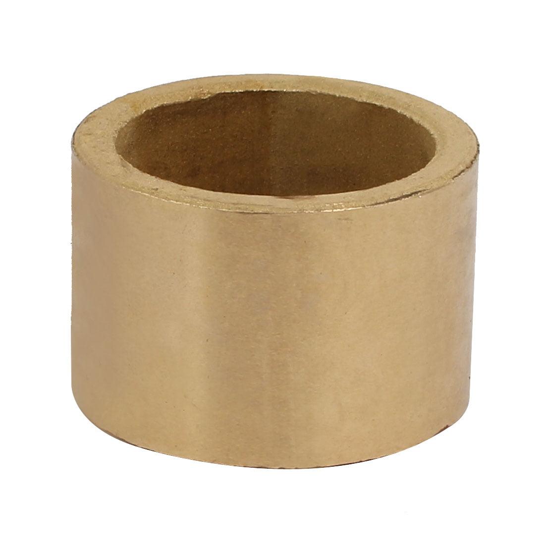 Unique Bargains 25mmx32mmx22mm Powdered Metal Bronze Sleeve Bearing Bushing Gold Tone - image 2 of 3