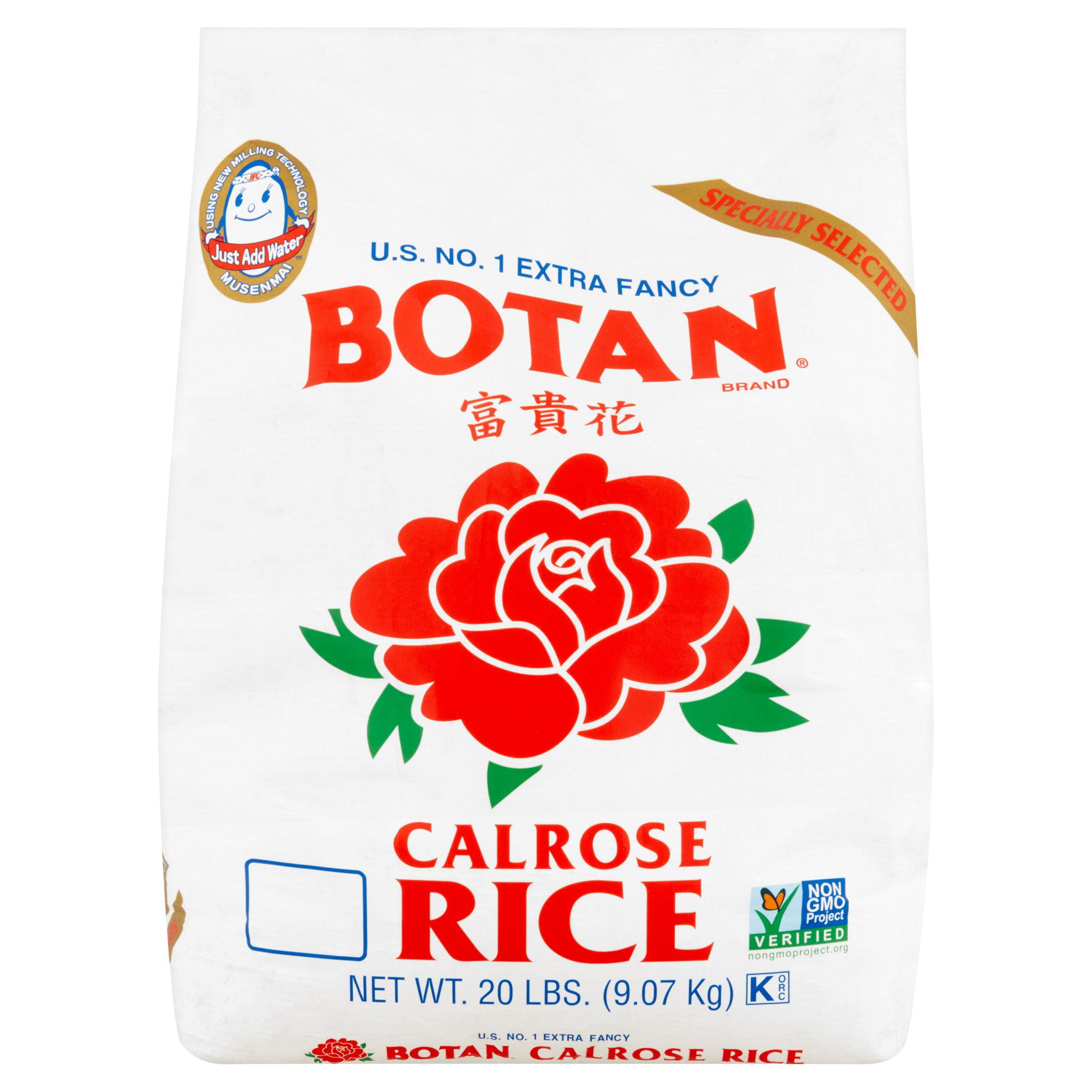 Botan Extra Fancy Calrose Rice, 20lb - $0.87/lb