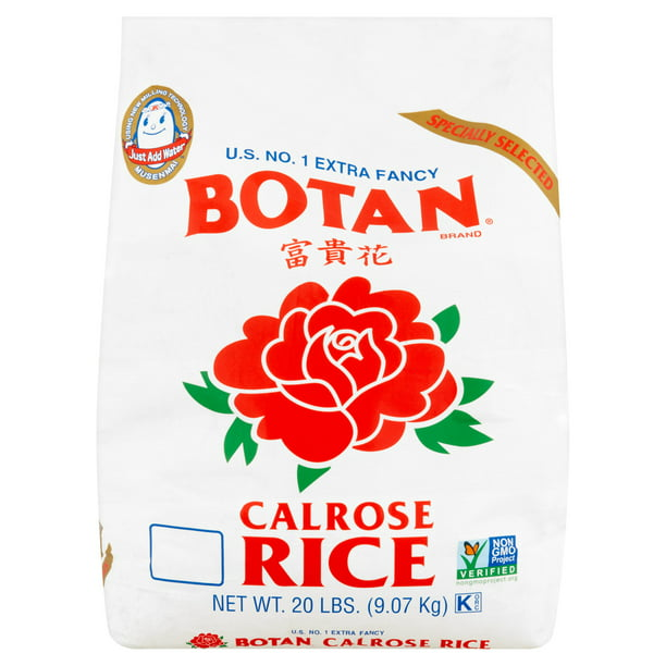 Botan Extra Fancy Calrose Rice, 20 lb
