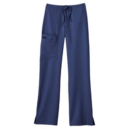 - Jockey Half Elastic Half Drawstring Zipper Pocket Pant Scrub Bottoms
