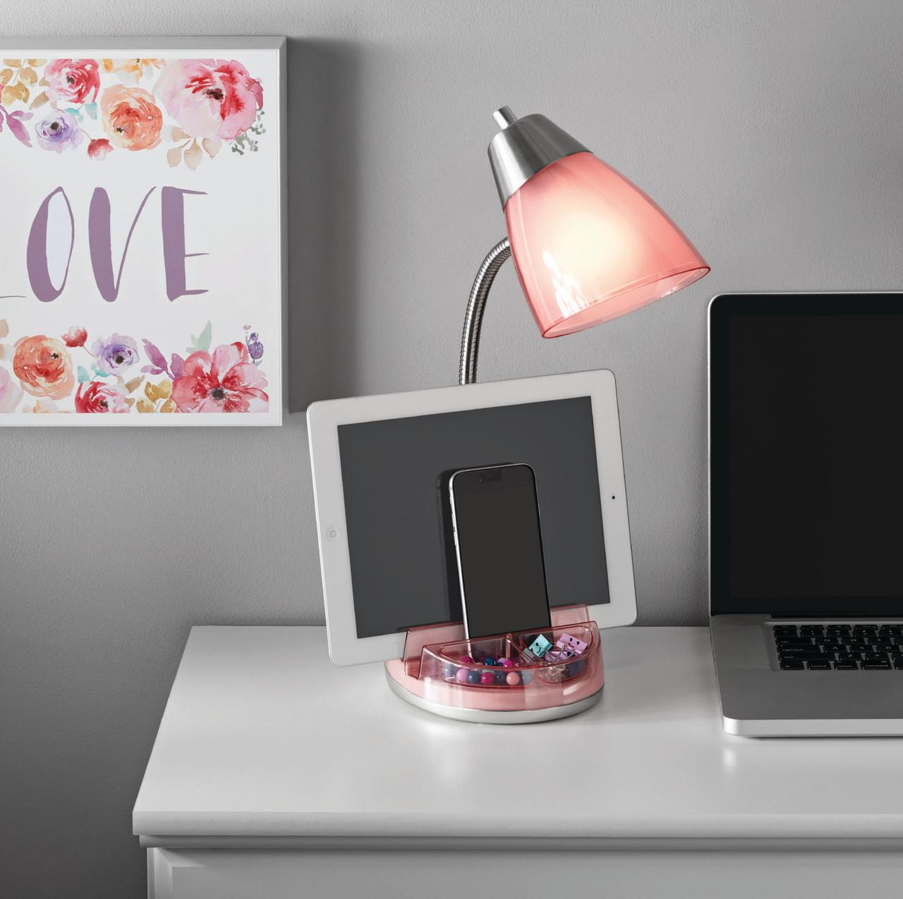Mainstays Stylish Organizer Lamp