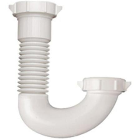 Plumb Pak PP21250 Flex - N - Fix - PVC Adjustable J - Bend Trap - image 1 of 1